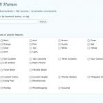 WordPress 2.8 – El buscador de Themes