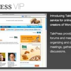 TalkPress VIP ya en marcha