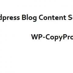 Evita que copien tu contenido en WordPress
