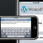 WordPress para iPhone OS 3.0 beta disponible