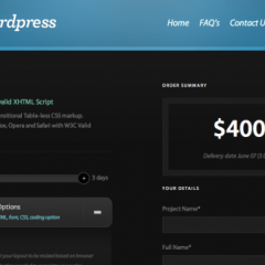 PSD a WordPress