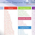 23 chuletas imprescindibles para WordPress