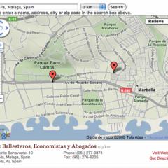 Simple Map – Un mapa configurable