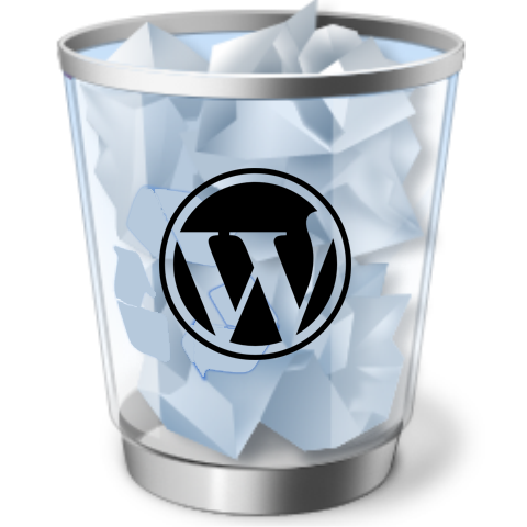 Papelera WordPress