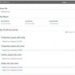 WordPress.org Profiles