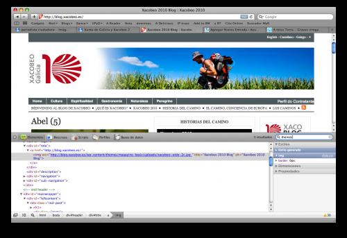 Hecha con WordPress y Theme gratis (0 euros)