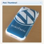 Miniatura de post en WordPress 2.9