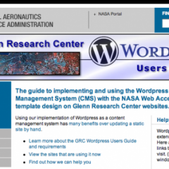 La NASA promueve el uso de WordPress