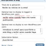 Suscripciones por email sin feedburner
