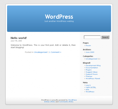 Wordpress_default_theme