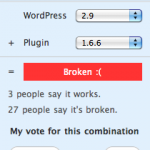 Plugins que no funcionan en WordPress 2.9
