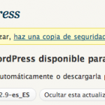 WordPress 2.9 Español ya disponible