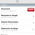 WordPress 2.1 para iPhone