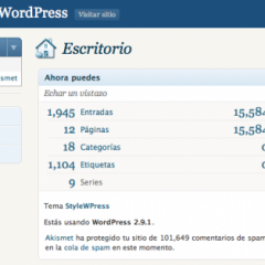 Quitando menús del escritorio de WordPress