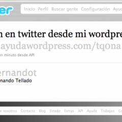 Aloja imágenes para Twitter en tu WordPress