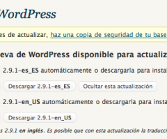 WordPress 2.9.1
