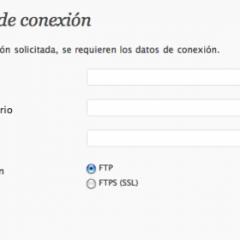 Instalar plugins y temas sin poner datos de FTP
