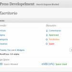 Nuevo esquema de colores en WordPress 3.0