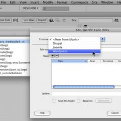 Dreamweaver CS5 incluye soporte de WordPress