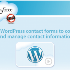 WordPress se conecta con el CRM Salesforce