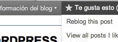 Reblog en WordPress alojados