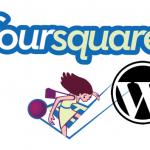 Foursquare en WordPress