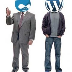 WordPress como Drupal