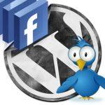 Añadir botones para compartir en Twitter y Facebook