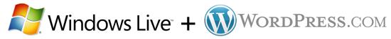 Windows Live Spaces + WordPress.com