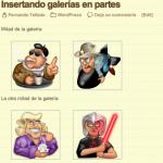 Incluir y excluir imágenes de una galería sin plugins