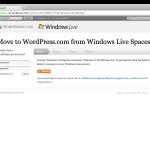 Migración de Live Spaces a WordPress, guía completa y FAQ