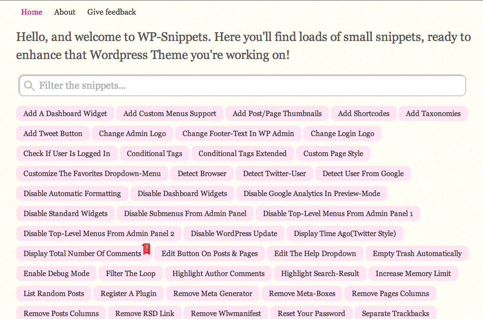 WordPress Snippets • Ayuda WordPress