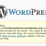 Pronto WordPress para Windows Phone