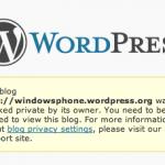 Pronto WordPress para Windows Phone