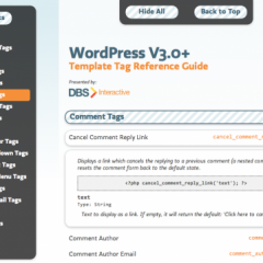 Template tags de WordPress 3.x