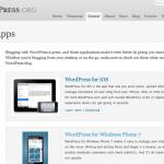 Nueva página de extensiones móviles en WordPress.org
