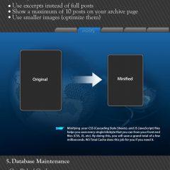 Como acelerar WordPress (infografía)