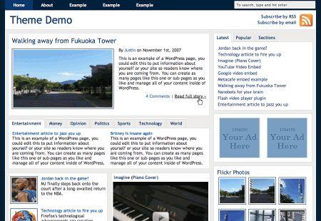 Contenido de muestra para probar temas WordPress • Ayuda WordPress