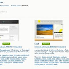 Temas de pago en WordPress.com