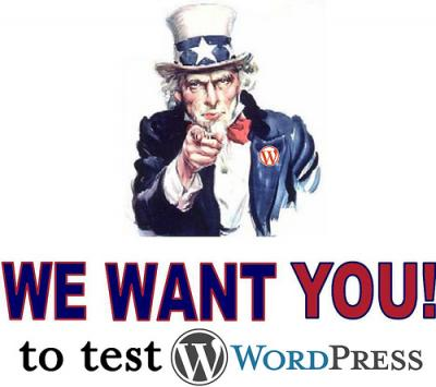 test wordpress 3.2