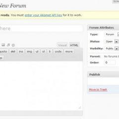bbPress 2.0, ya queda menos para el plugin de foros