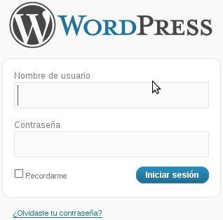 Cambiar URL de pantalla de login