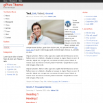 Tema Google+ para WordPress