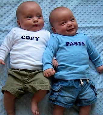 copy y paste
