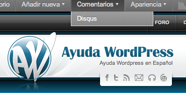 Añadir y quitar enlaces en la barra de admin de WordPress