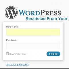 Restringir acceso a wp-admin