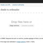 WordPress 3.3 – El nuevo cargador de medios