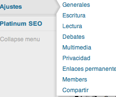 WordPress 3.3: Nuevos menús desplegables de escritorio