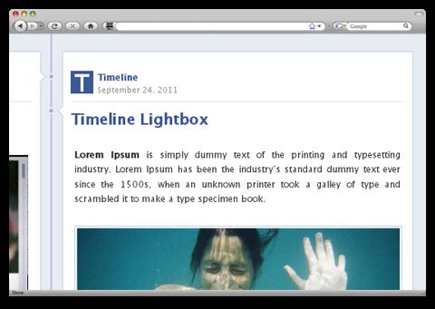 Timeline, WordPress como el nuevo Facebook