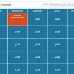 WordPress Jeopardy